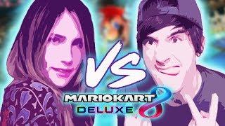 Video de LUZU VS LANA en MarioKart de Nintendo Switch!