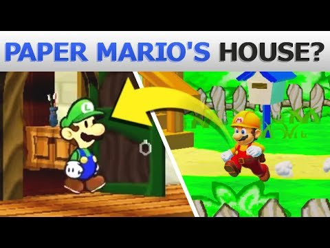 Paper Mario's House in STORY MODE!   Super Mario Maker 2