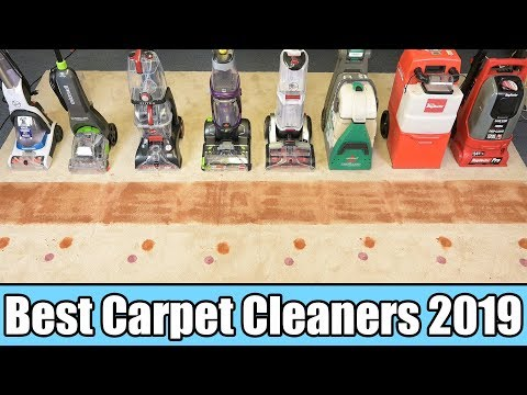 Best Carpet Cleaner 2019 - TESTED- Bissell vs Rug Doctor vs Hoover