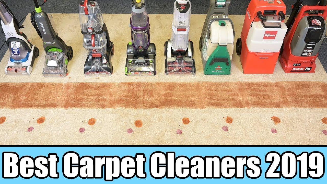 Best Carpet Cleaner 2019 - TESTED