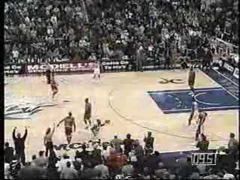 Michael Jordan Shot Block/Steal versus Bulls