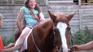 Лошадиная ферма. Иппотерапия(Лошадь не только друг человека, но и отличный лекарь. Верховая езда с древних времен была не только спортом,..., 2013-08-29T10:56:37.000Z)