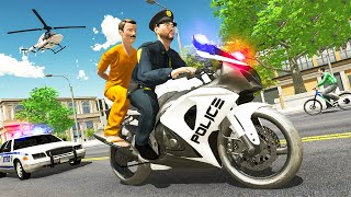 Police Moto Bike Prisoner Transport 3D - Bike Prisoner Games - Android GamPlay