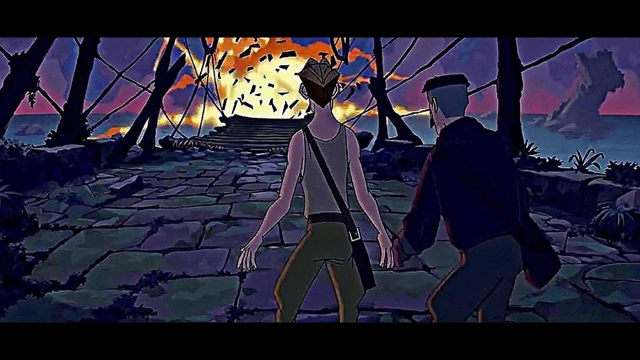 Atlantis The Lost Empire Scene