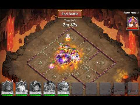 Castle Clash, Storm Mesa- 3, Team Dungeons