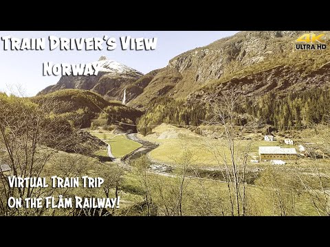 4K CAB VIEW: Spring 2020 On The Flåm Railway. But No Tourists?