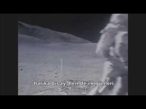AY 'da Kamereya Yakalanan  Uzaylı Yaratık. Alien Creature Caught In The Camera On The Moon