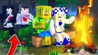 1 NACHT ALLEINE mit KILLERN IM WALD?! - Minecraft [Deutsch/HD]