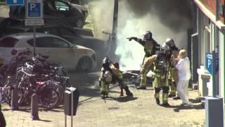 Brand Aan Het Surinameplein Amsterdam, 22 Mei 2014