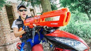 LTT Game Nerf War : Bounty Hunter Warriors SEAL X Nerf Guns Fight Inhuman Group CrossFire
