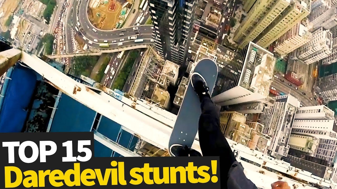 Download Top 15 Scary Daredevil Stunts - These people are crazy!