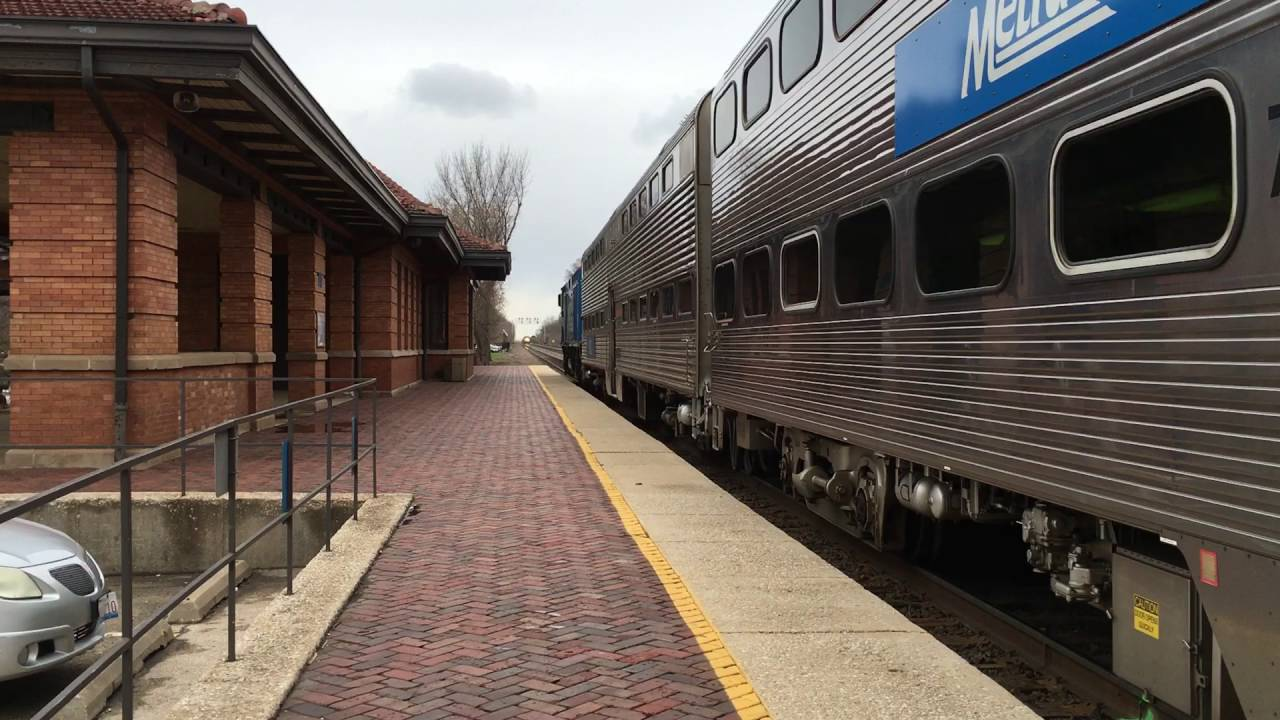 Image result for riverside illinois metra station