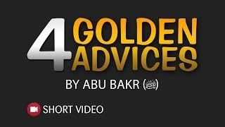 4 Golden Advices ᴴᴰ ┇ Islamic Short Video ┇ TDR Production ┇