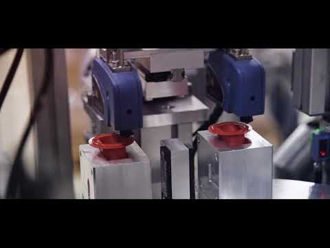 Automation - Newton's Cap Mounting Machine