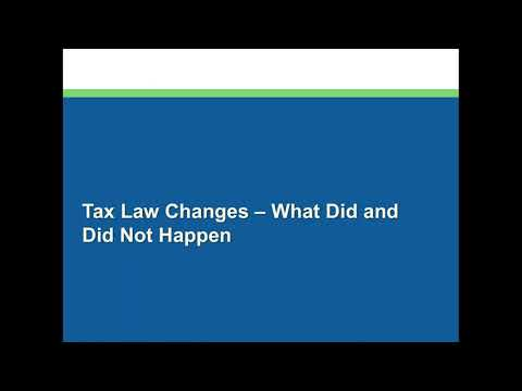 Impacts of the Tax Law Change on the Wind Industry