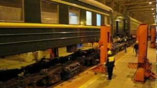 Trans-Siberian Railroad: Bogie Changing