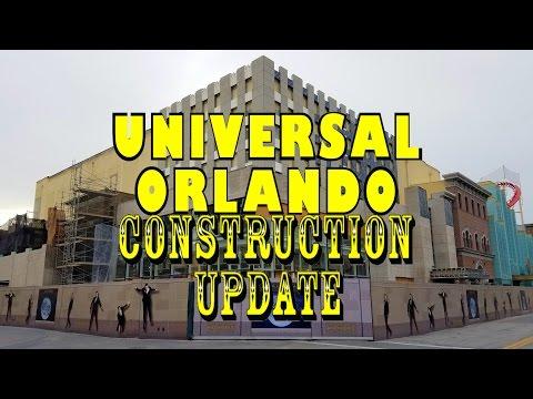 Universal Orlando Resort Construction Update 11.9.16 Construction BOOM & CRAZY Rumors!