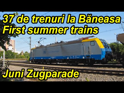 37 de trenuri la Baneasa-First summer trains-Juni Zugparade
