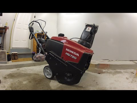 how to fix a snow blower that won 39 t start honda hs720as. Black Bedroom Furniture Sets. Home Design Ideas