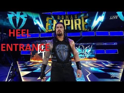Roman Reigns Heel Entrance with