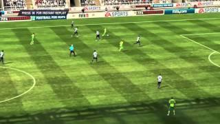 FIFA 11 FA Cup Challenge Ep 002: Newcastle VS Norwich ( Round 4 )