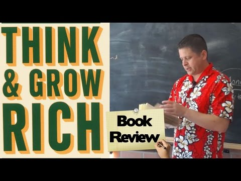 📚📚 Think And Grow Rich Overview Book Review Audiobook - And Law Of Attraction RANT
