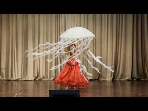 "Khomenko Anastasia New Year concert of the Oriental Dance School ""Royal Dance"", 27 December 2017"