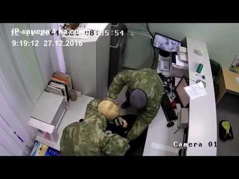 Ограбление банка в Воронежской области