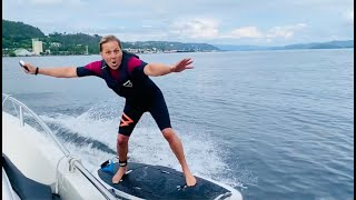 Testing Radinn Electric Jetboard | Review and first experience