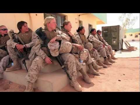 A Look Inside the FET (US Marines - Female Engagement Team)