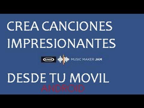 CREA Tus Propias Canciones / ANDROID / APP GENIAL