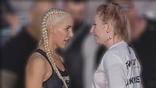 LINKIEWICZ VS LIL MASTI OFICJALNE WAŻENIE I FACE TO FACE FAME MMA 4!!
