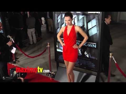 "Laura James ""Dead Man Down"" Premiere Red Carpet ARRIVALS - America's Next Top Model"
