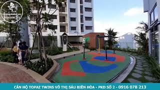 Cận cảnh hồ bơi tại căn hộ Topaz Twins tháng 10-2020