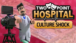 Two Point Hospital: Culture Shock | Announce Trailer