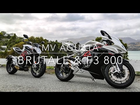 MV Agusta Brutale 800 & F3 800 quick review