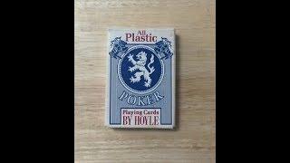 Vintage Hoyle All Plastic Deck Review