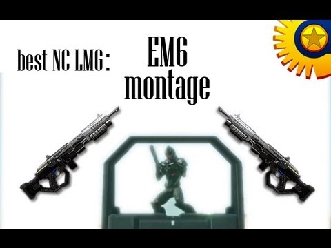 BEST NC LMG | EM6 Montage | Planetside 2 | killstreaks as heavy assault