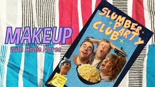 LipSmackers, Nail Art, and Clown Makeup w/ Andie Flores | Slumber Party Club Ep. 2