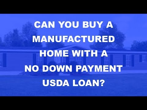 How can i get a loan for a used mobile home