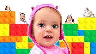 Kids Song - Tetris Family | Nursery Rhymes by Maya nad Mary
