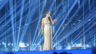 ESCKAZ in Copenhagen: Ruth Lorenzo (Spain) - Dancing In The Rain (dress-rehearsal final)
