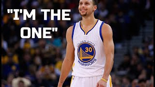 """Stephen Curry-""""I Am The One"""""""
