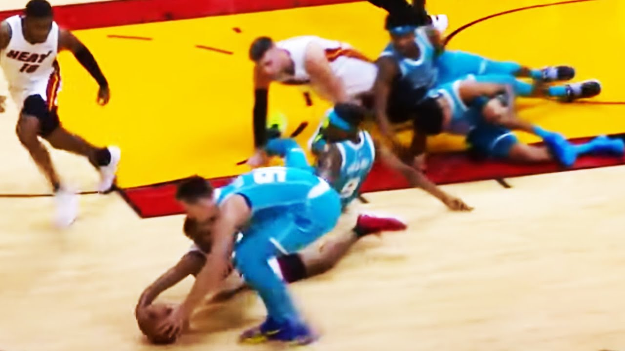 Download Chaos Erupts At End of Hornets vs Heat Game! 👀