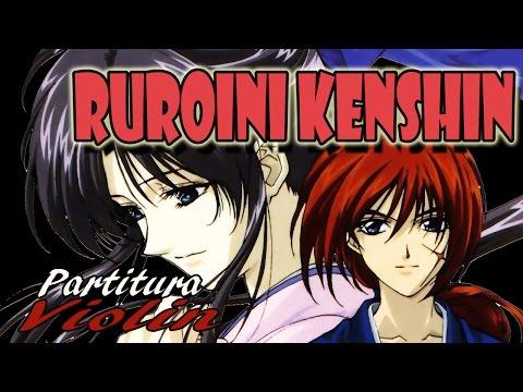 RUROUNI KENSHIN - 🎻Namida wa shitte iru - VIOLIN PARTITURA - ENDING 2⃣