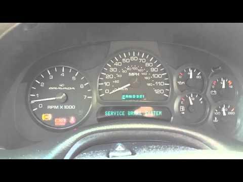ABS Anti Brake System Light Quick Fix 1 Of 5 GM Trailblazer Envoy Rainier Bravada Saab