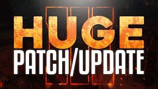 HUGE Black Ops 3 Patch! Streak Buff, Weapon Tunes & G-Slide Gone!