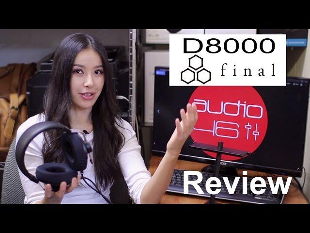Final Audio D8000 Planar Magnetic Headphone Review