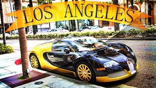 Bugatti e beverly hills - los angeles