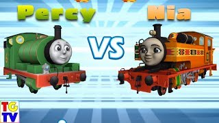 Thomas & Friends: Go Go Thomas - Percy vs Nia, Rosie